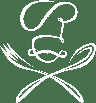 Chef logo white