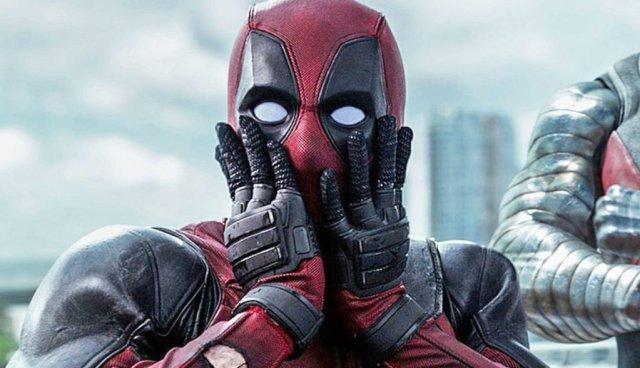 Deadpool is surprised