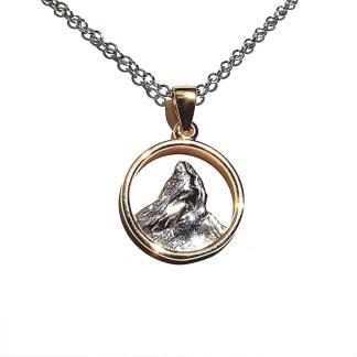 Pendentif en argent 925 Cervin by White Alpina. Pendentif pour hommes et femmes. Ce magnifique bijou est livré dans un écrin avec une chaîne.