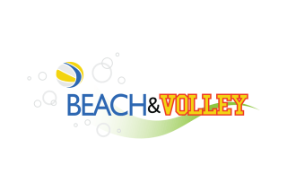 BEACH&VOLLEY : Associazione Sportiva di Volley e Beach Volley (2010 logotype design)