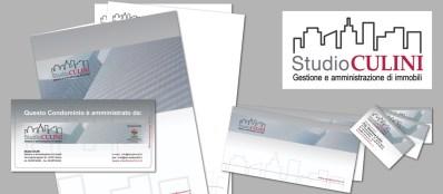 Studio CULINI : studio commerciale per la gestione e l'amministrazione di immobili (2013 logo, web & corporate id.)