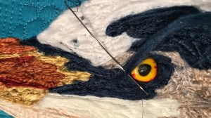 It LIVES!  Bringing the Blue Heron to life.