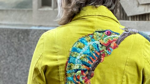 Confused Chameleon Coat, 2020