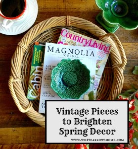 Vintage Green Pieces to Brighten Spring Decor