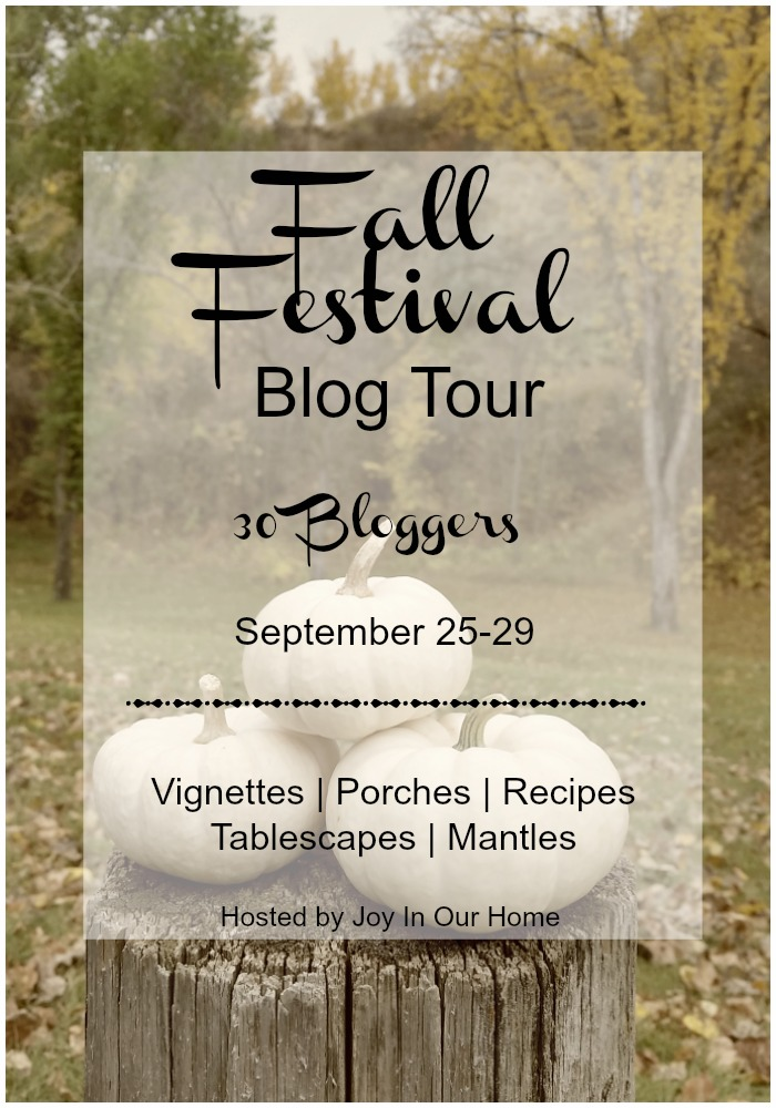 Fall Festival Blog Tour, Home Tour, Fall Decor, Autumn Decor