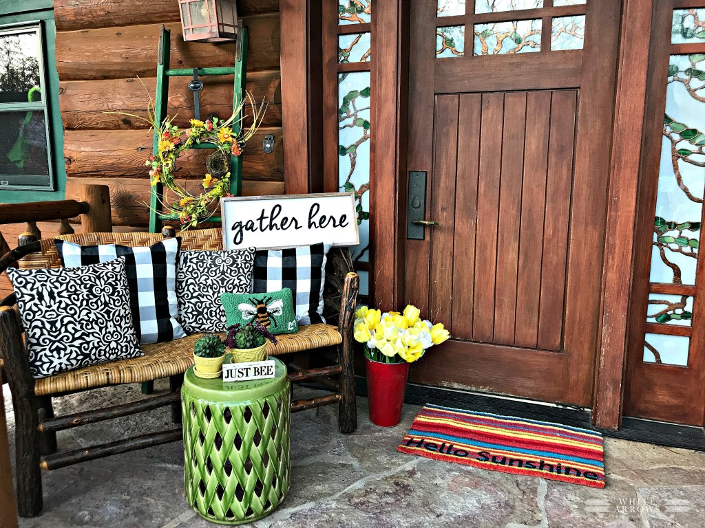How To Style A Welcoming Porch For Spring Fresh And Bright Ideas