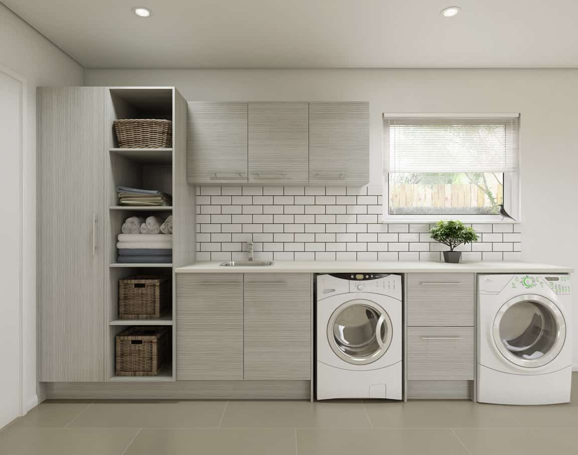 TIMBERLINE - laundry cabinets | White Bathroom Co on Laundry Cabinets  id=57612