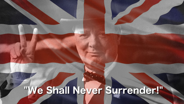 The Future With BREXIT. The Indomitable Spirit embodied in Winston Churchill is still alive today