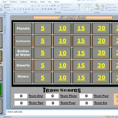 PowerPoint Games and Other Game Templates