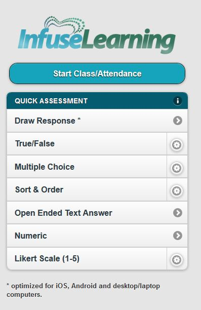 Infuse Learning – A BYOD Student Assessment Tool