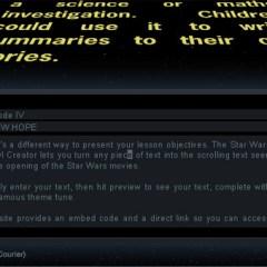 The Star Wars Crawl Creator