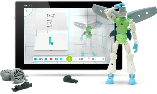 Create Creatures for 3D Printing with 123D Tinkerplay