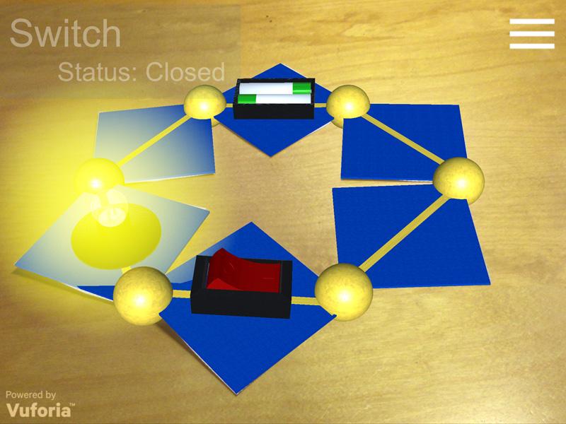 AR Circuit Augmented Reality app
