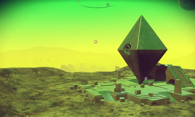 Exploring the Universe in No Man's Sky