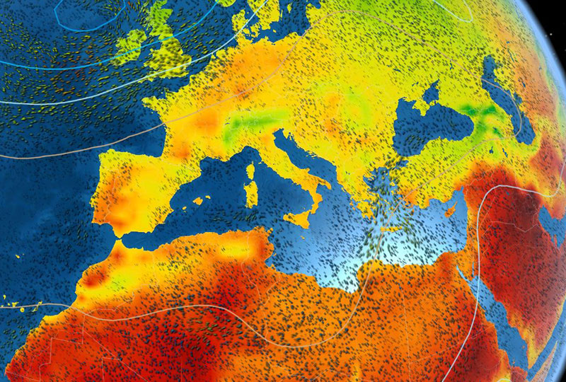 Live Earth Wind Map.Meteoearth Live Weather View And Forecasting App