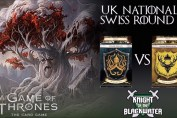 AGOT LCG UK National 2017 - Swiss Round Two - Greyjoy/Fealty vs Bara/Fealty