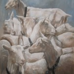 Art: Saanen Goats