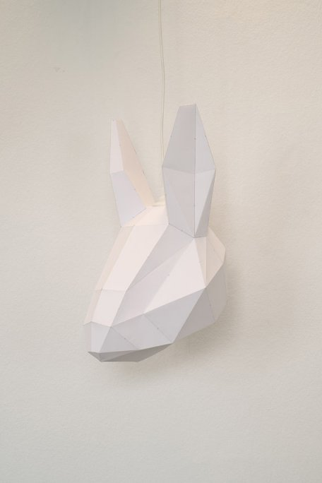 wolf lamp paper