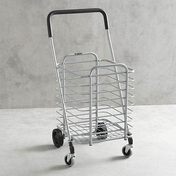 polder-folding-shopping-cart
