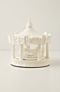carousel clock-168-anthropologie
