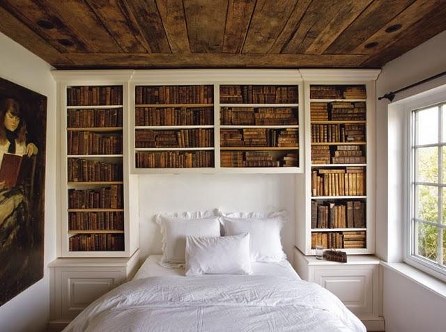 Bookshelf Fantasy For Bedroom White Bedroom