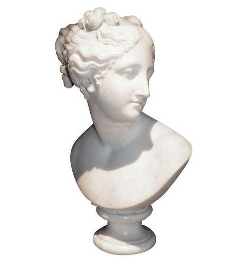 marble bust-1st dibs
