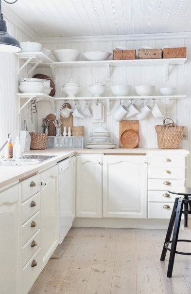 white kitchen my lovely things blog cococozy
