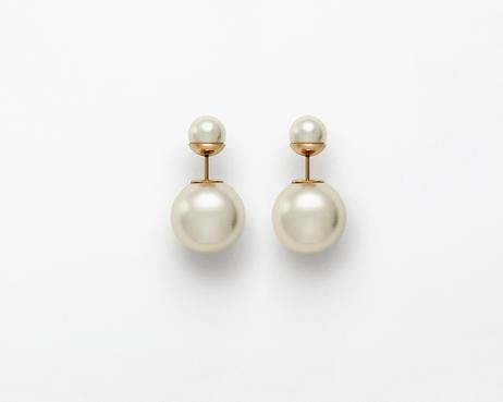 Dior-pearl-earrings
