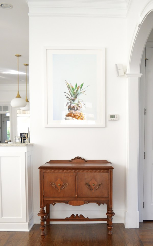 White-Cabana-home-Minted-pineapple-art-2
