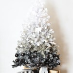 The Friday Five: Black and White Christmas Trees