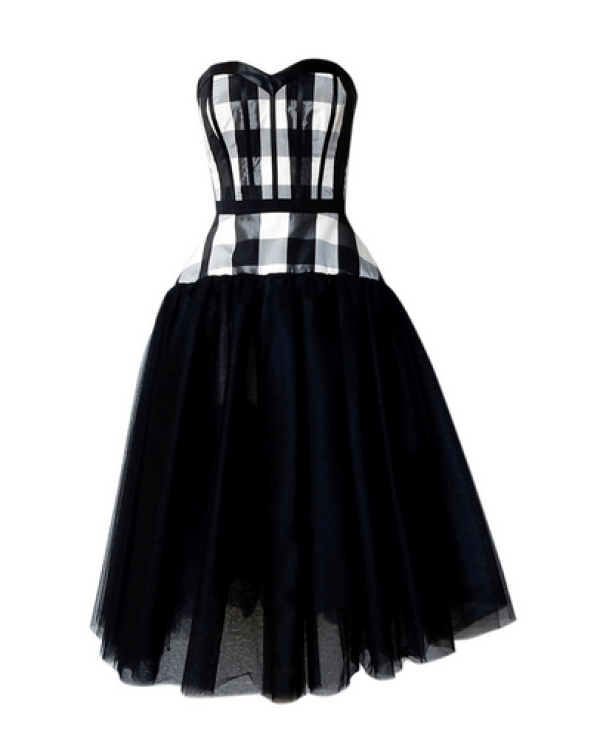 John-Galliano-buffalo-check-dress
