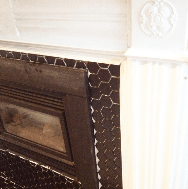 White-Cabana-fireplace-hex-black-tile
