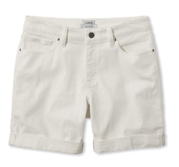 llbean-white-jean-shorts