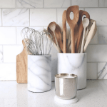 Two for Tuesday: Marble Accessories for the Kitchen