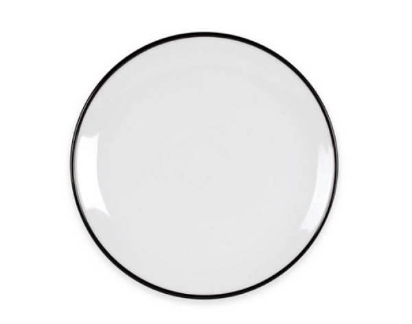 fitz-floyd-black-rim-white-plate