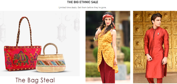 cashback on ethnic wear