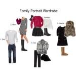 Family Portrait Wardrobe: Final Cut