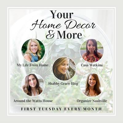 Home Decor & More Monthly Link Up Party {#1}