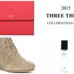 Three Things: Christmas List Edition