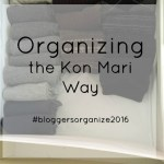 Kon Mari Organizing Project #2: Drawers