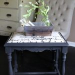 Vintage Stool Makeover for a Farmhouse Fresh Look