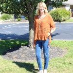 Rosewood Fringe Poncho~ A Perfect Transitional Piece