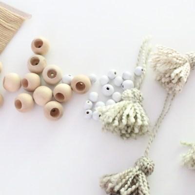 Wood Bead Tassel Garland~ Swap it Like its Hot 6