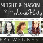Moonlight & Mason Jars Link Party #180