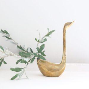 brass animals- vignettes- mid century- statue- figurine- home decor- vintage