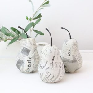 home decor, pears