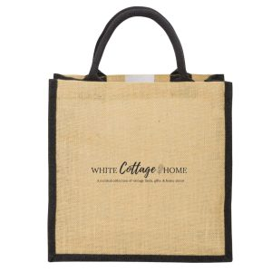 tote- jute- personalized tote- gifts