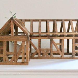 wooden barn- decorative- home decor- vintage- farmhouser