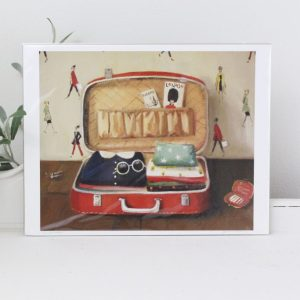 artwork- Janet Hill- Go-Getter- print, home decor