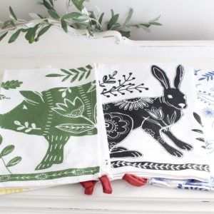cotton- tea towels- kitchen